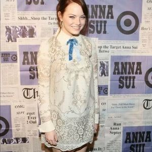 NEW ANNA SUI FOR TARGET WOMEN'S LACE MINI Dress